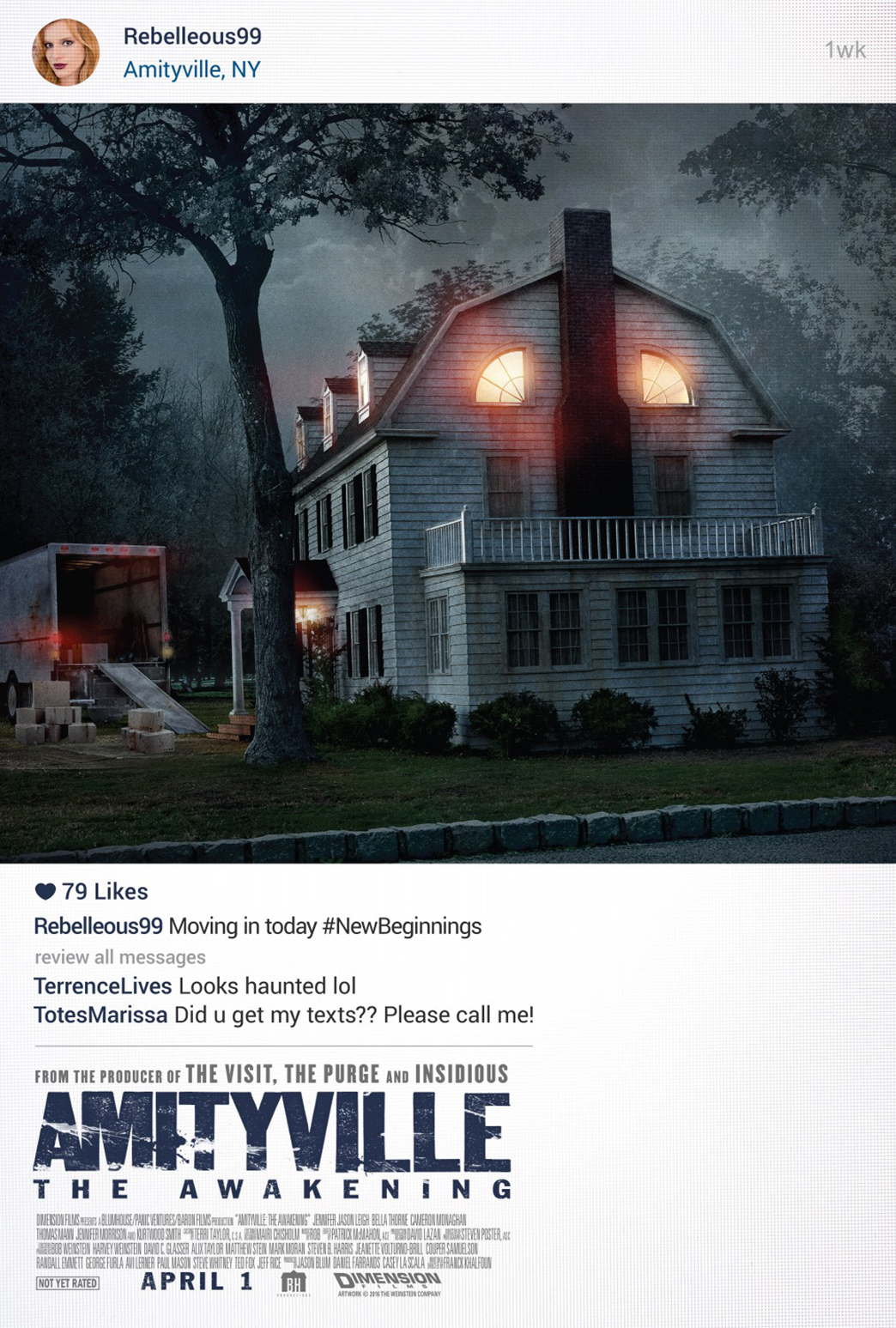 Amityville: The Awakening Poster #2