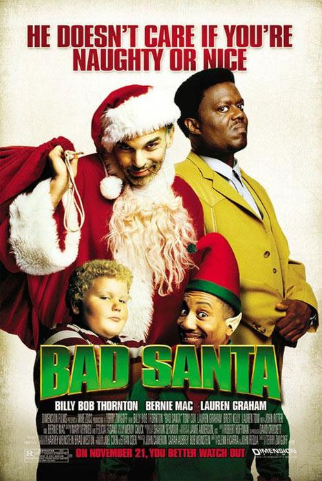 Bad Santa Poster #1
