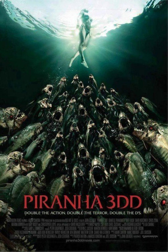 Piranha 3DD Poster #1