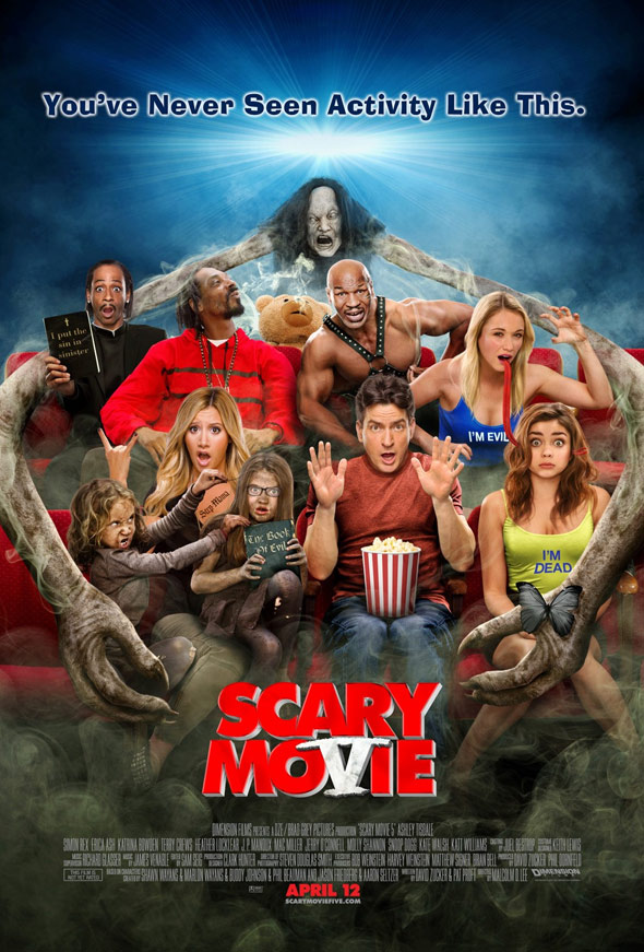 Scary Movie 5 Poster #1