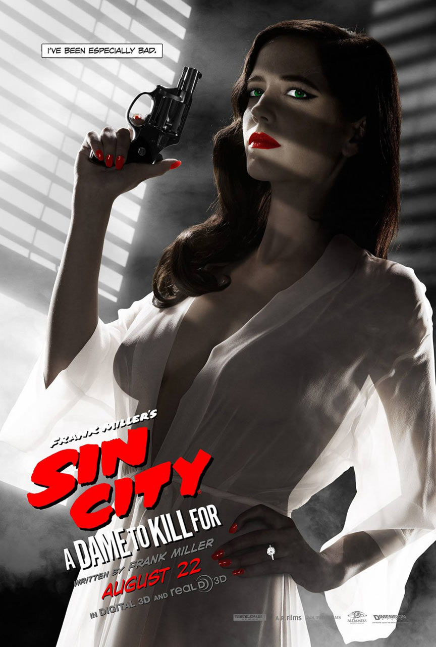 Sin City: A Dame To Kill For Poster #10