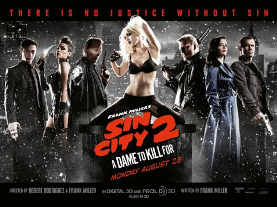 Sin City: A Dame To Kill For Poster #11