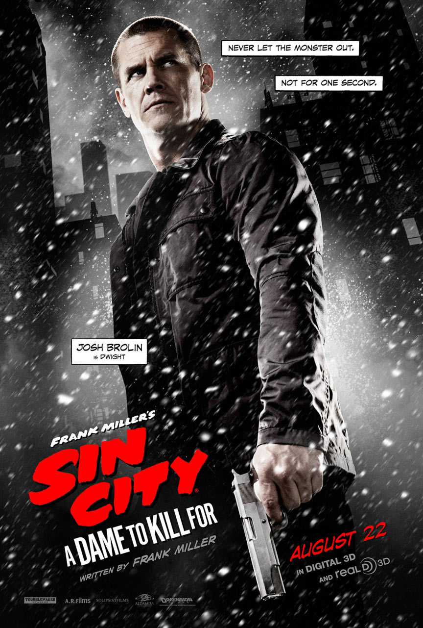 Sin City: A Dame To Kill For Poster #5