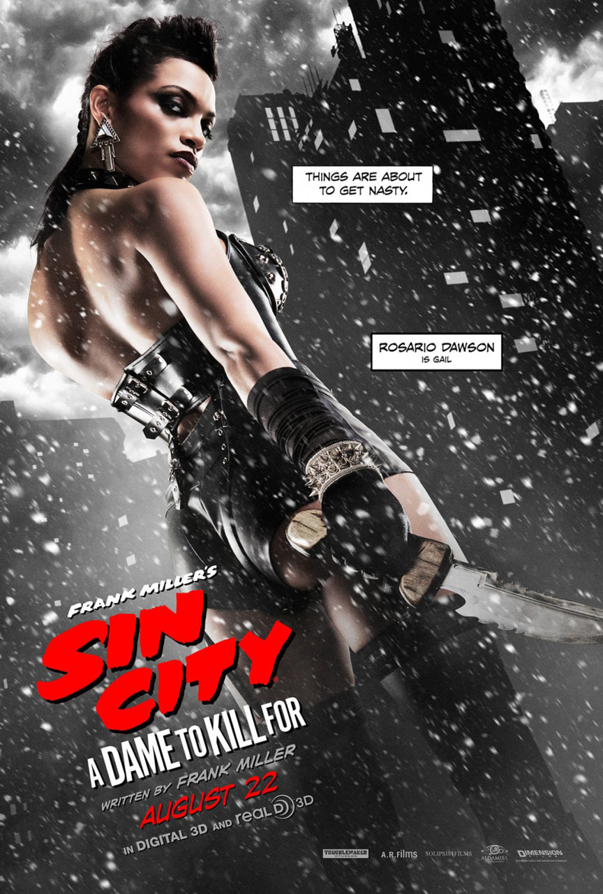 Sin City: A Dame To Kill For Poster #6