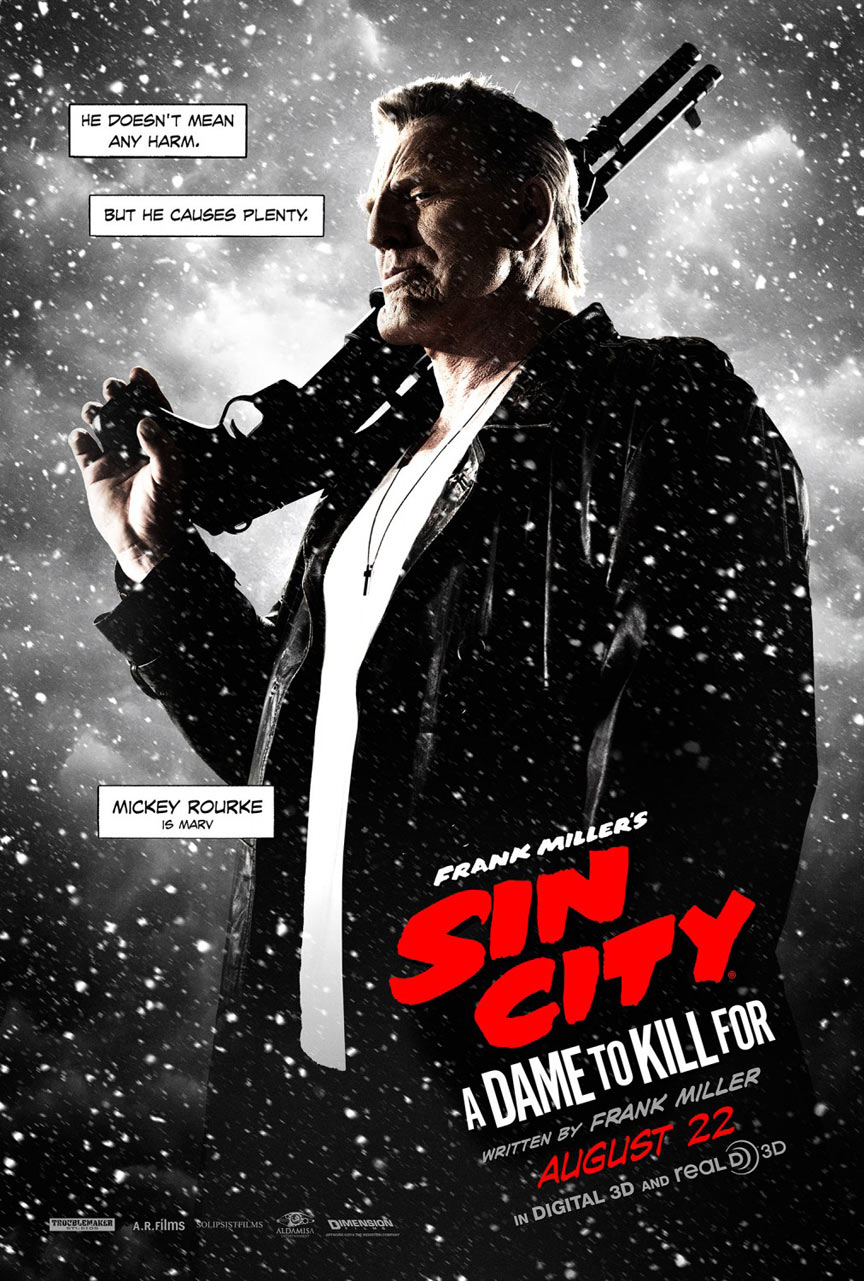 Sin City: A Dame To Kill For Poster #8
