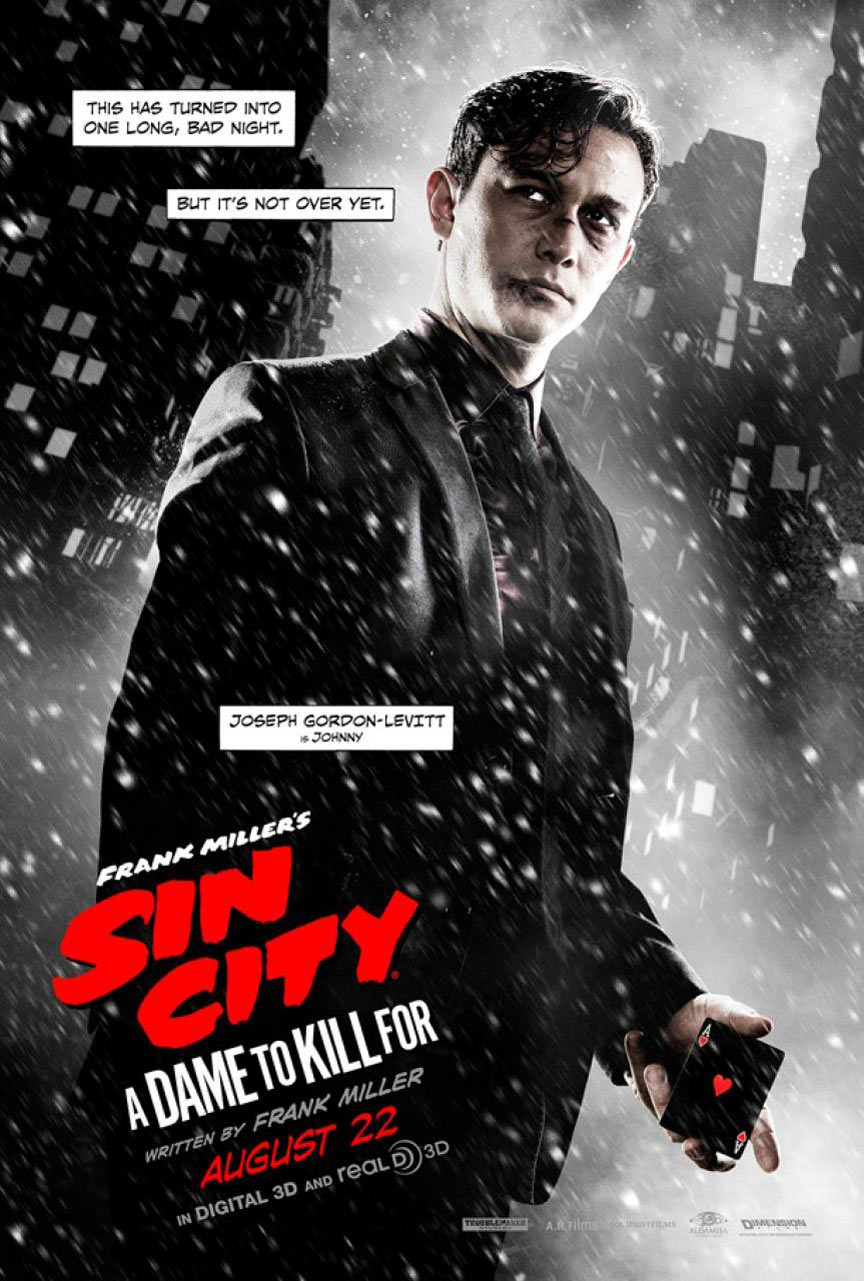 Sin City: A Dame To Kill For Poster #9