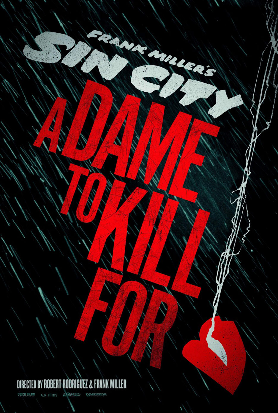 Sin City: A Dame To Kill For Poster #1