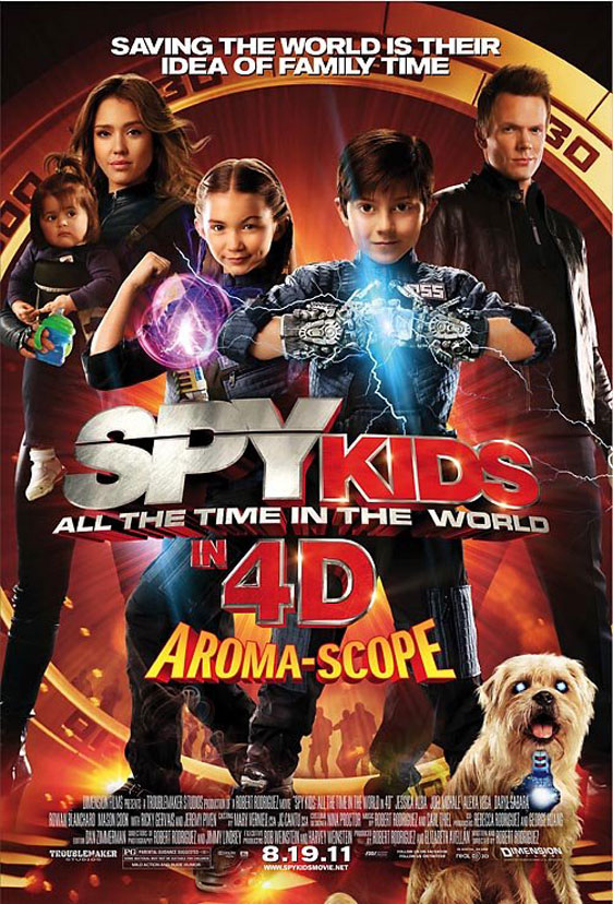 Spy Kids: All the Time in the World Poster #2