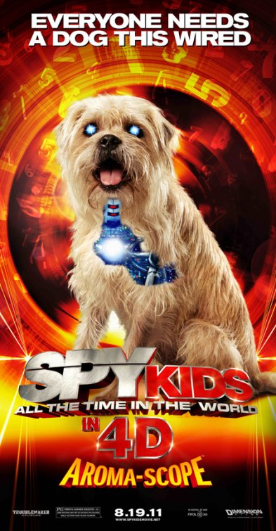 Spy Kids: All the Time in the World Poster #4