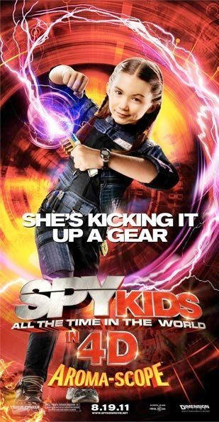 Spy Kids: All the Time in the World Poster #6