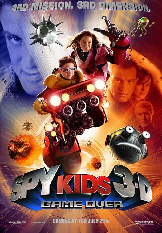 Spy Kids 3-D: Game Over Poster #1