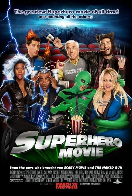 Superhero Movie Poster #1