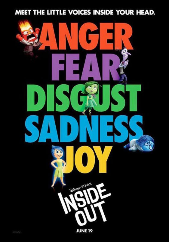 Inside Out Poster #3