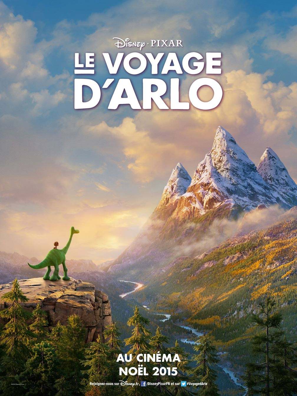 The Good Dinosaur Poster #2