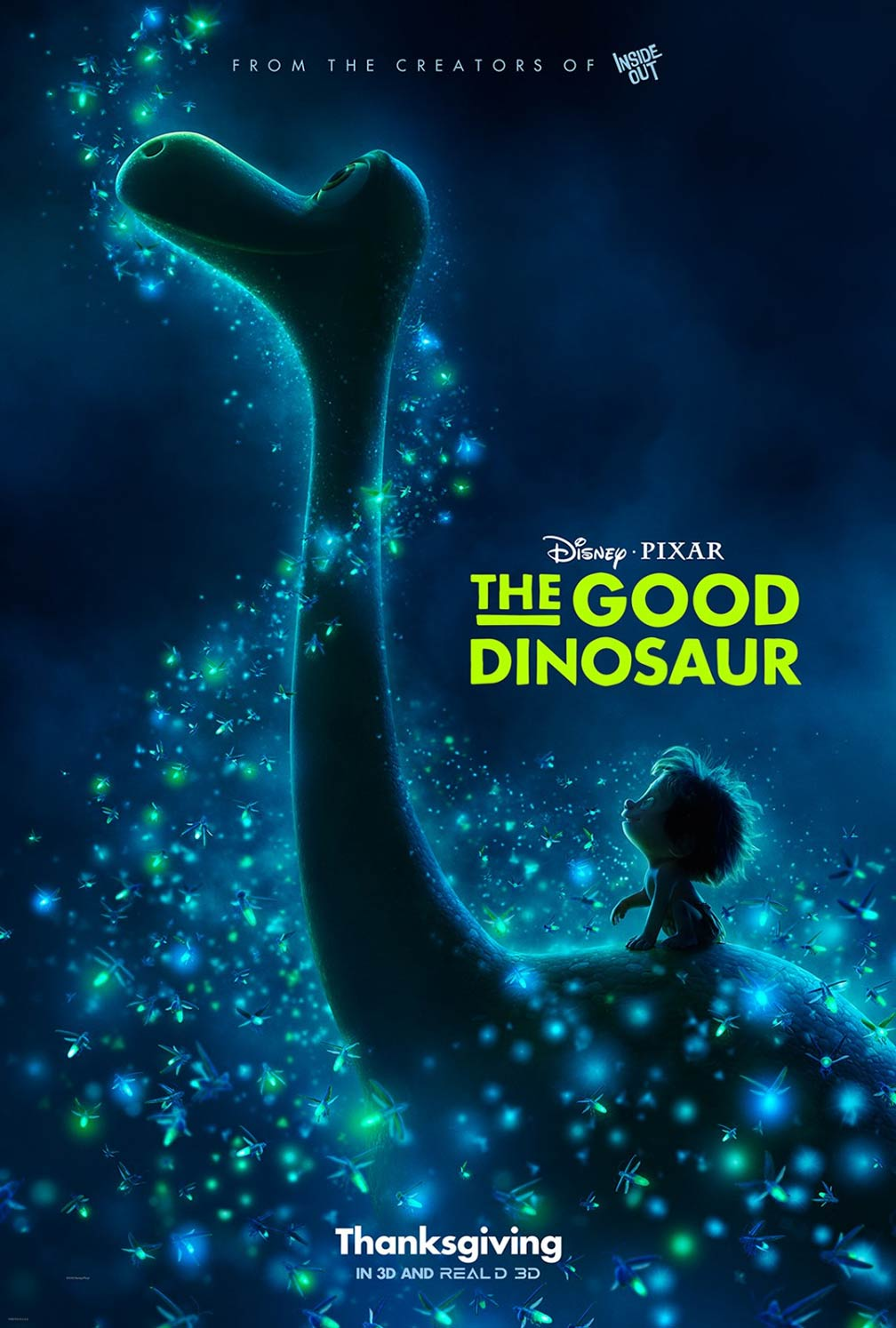 The Good Dinosaur Poster #3