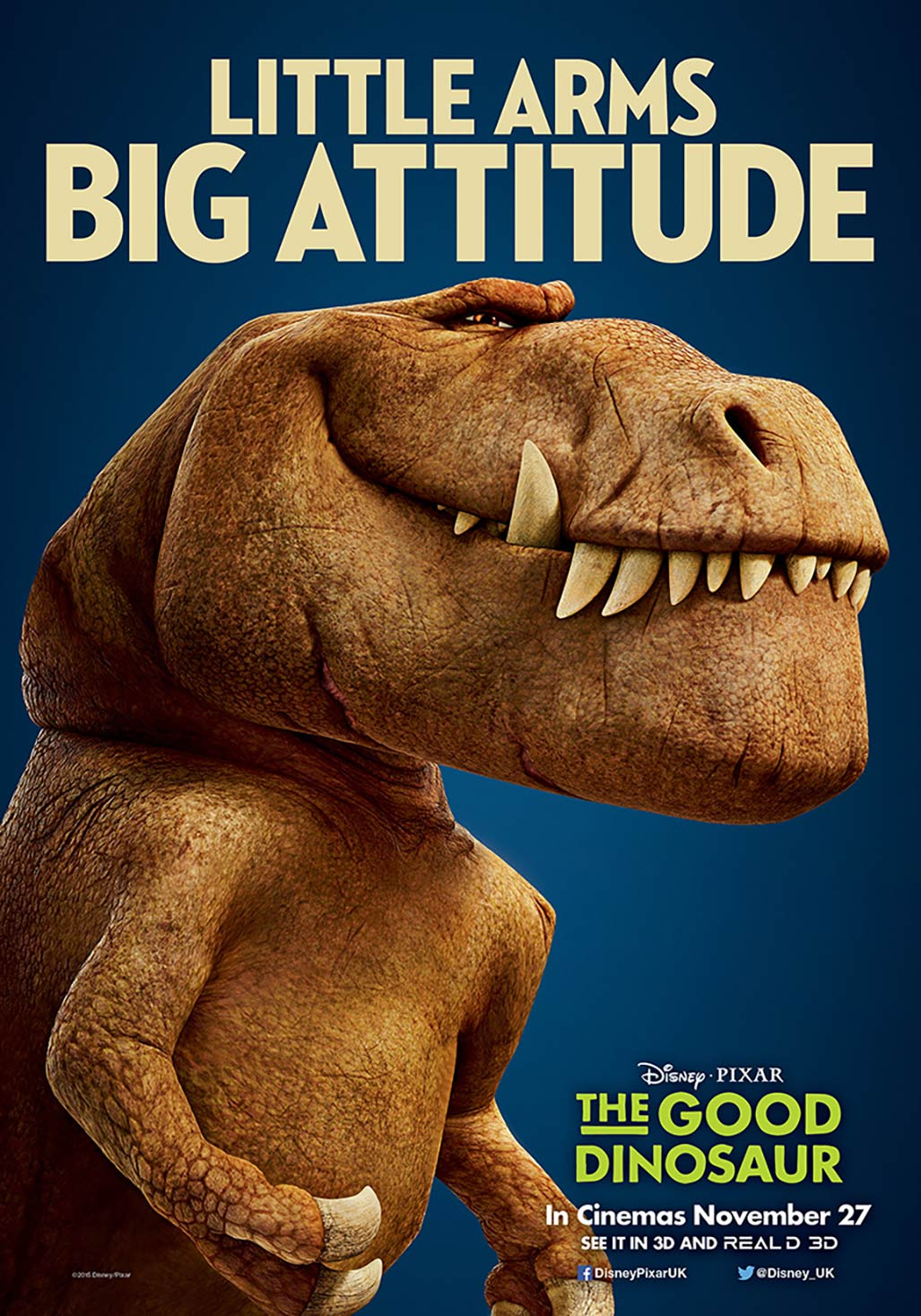 The Good Dinosaur Poster #4