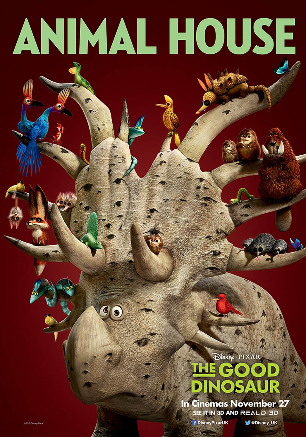 The Good Dinosaur Poster #6