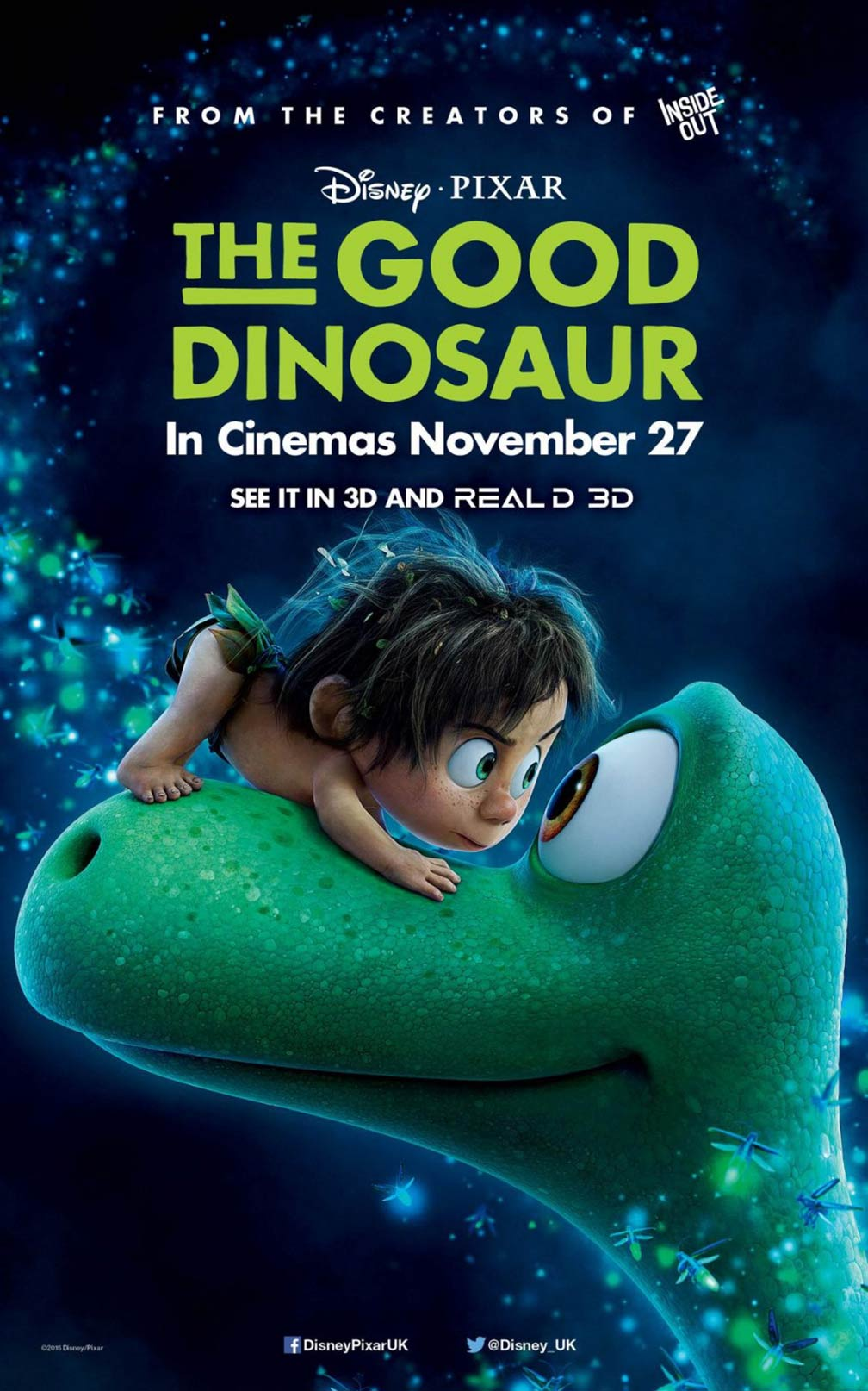 The Good Dinosaur Poster #7