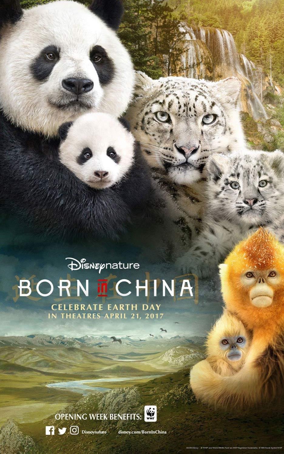 Born in China Poster #2