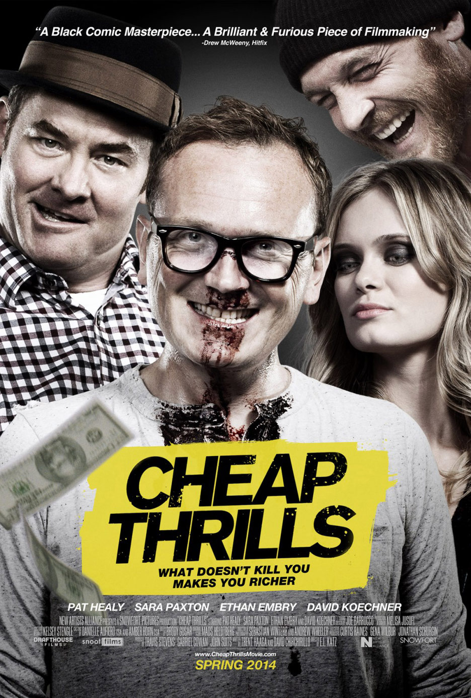 Cheap Thrills Poster #2