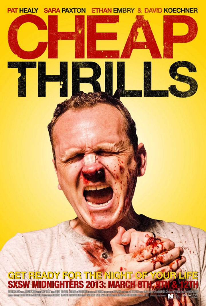 Cheap Thrills Poster #1