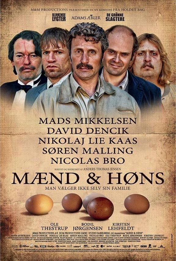 Men & Chicken Poster #1