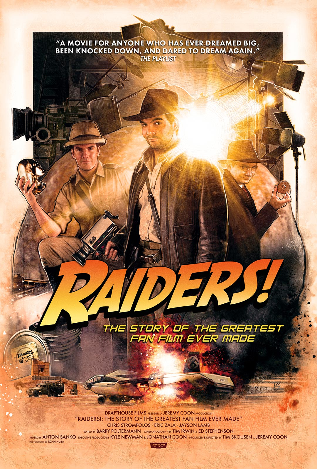 Raiders!: The Story of the Greatest Fan Film Ever Made Poster #1