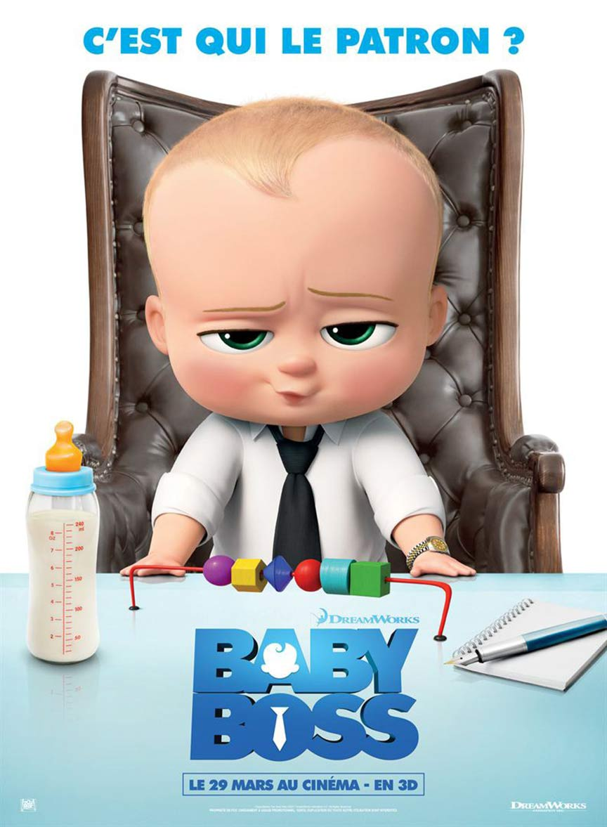 The Boss Baby Poster #6