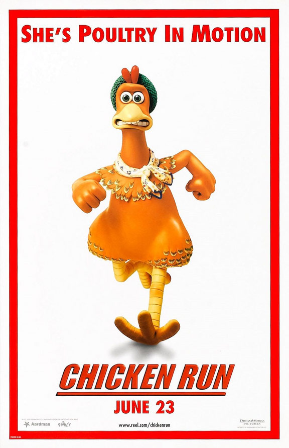Chicken Run Poster #3