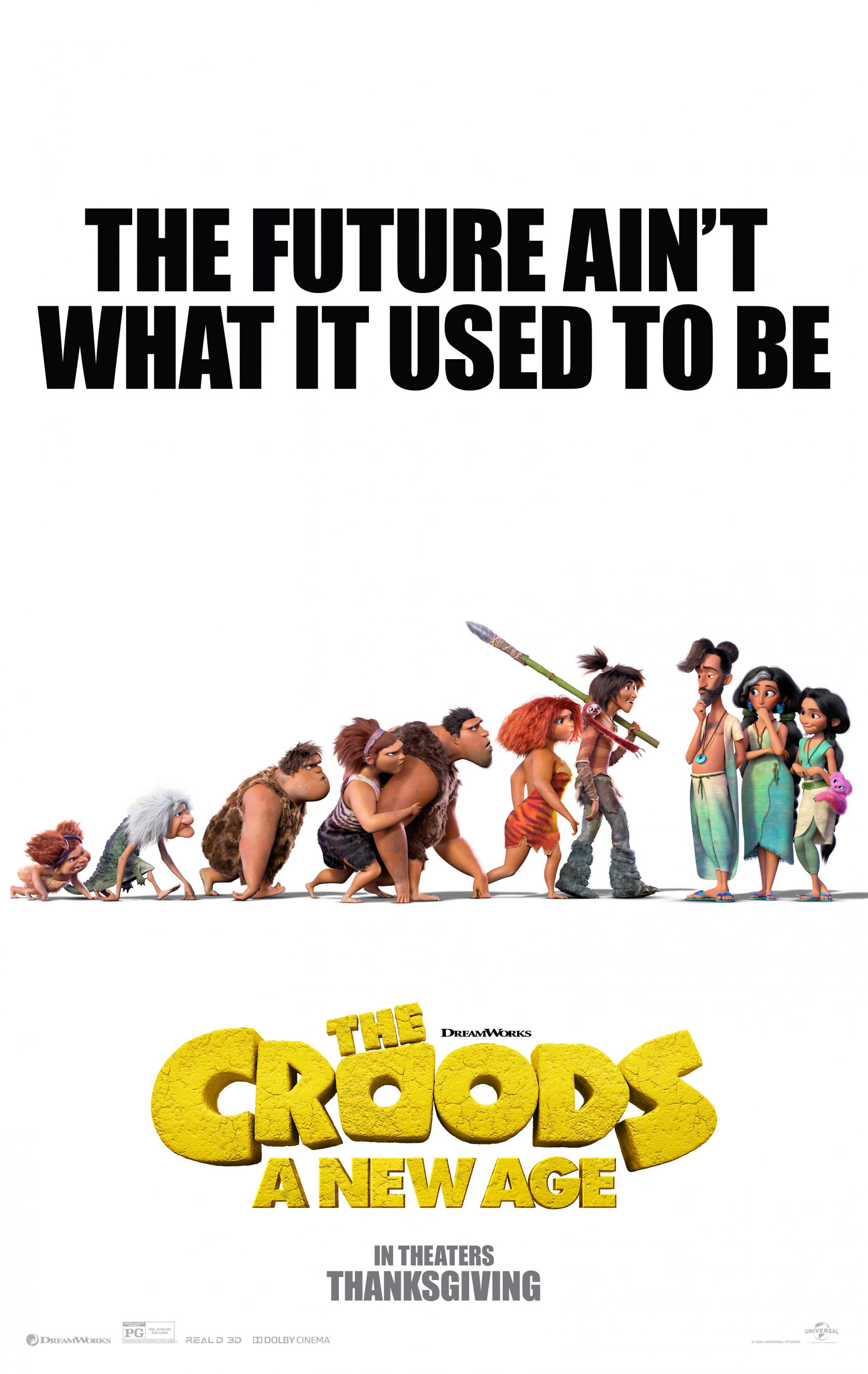 The Croods: A New Age Poster #1