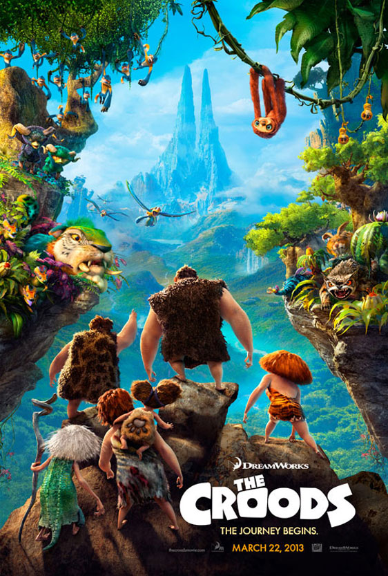 The Croods Poster #1