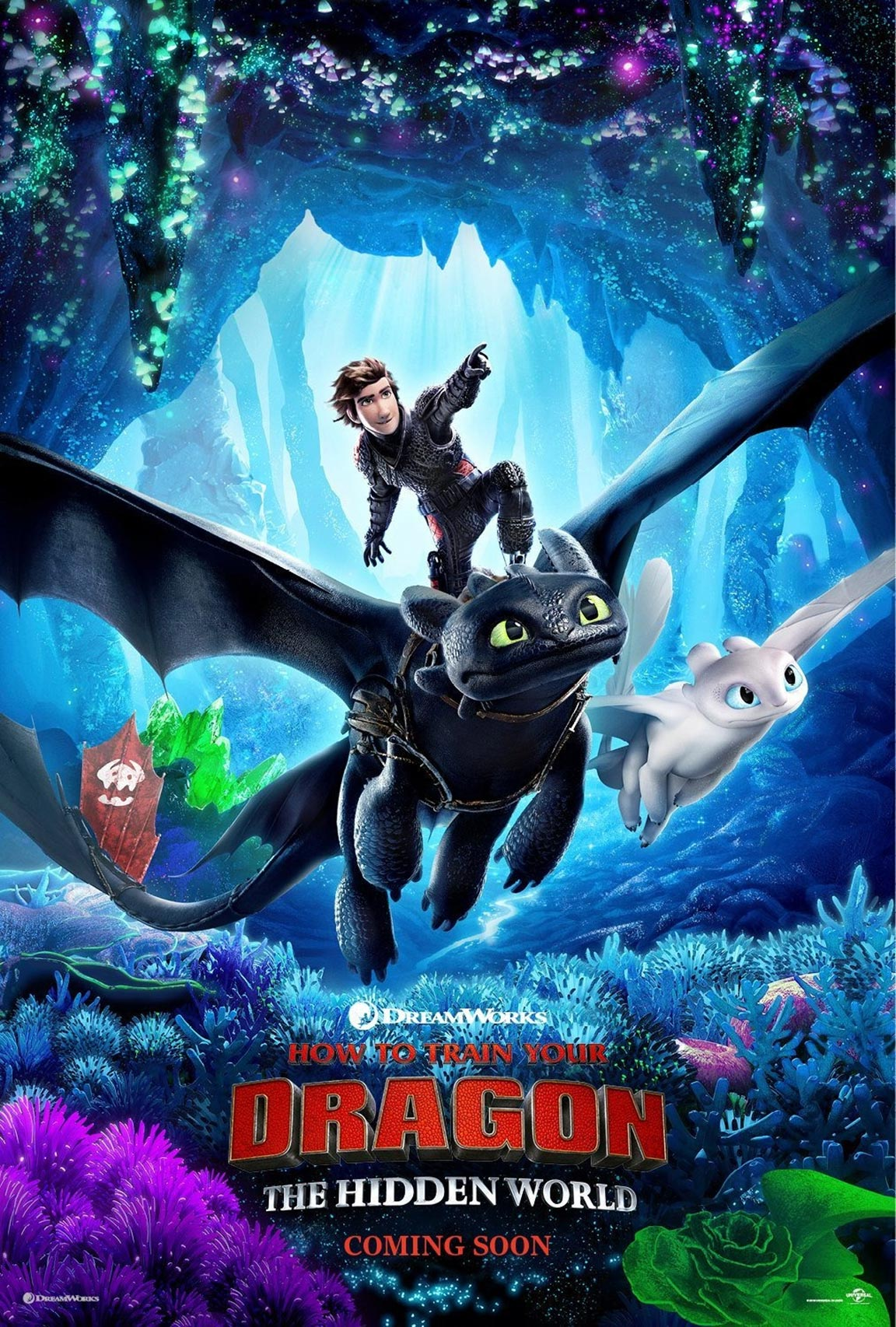 How to Train Your Dragon: The Hidden World Poster #2