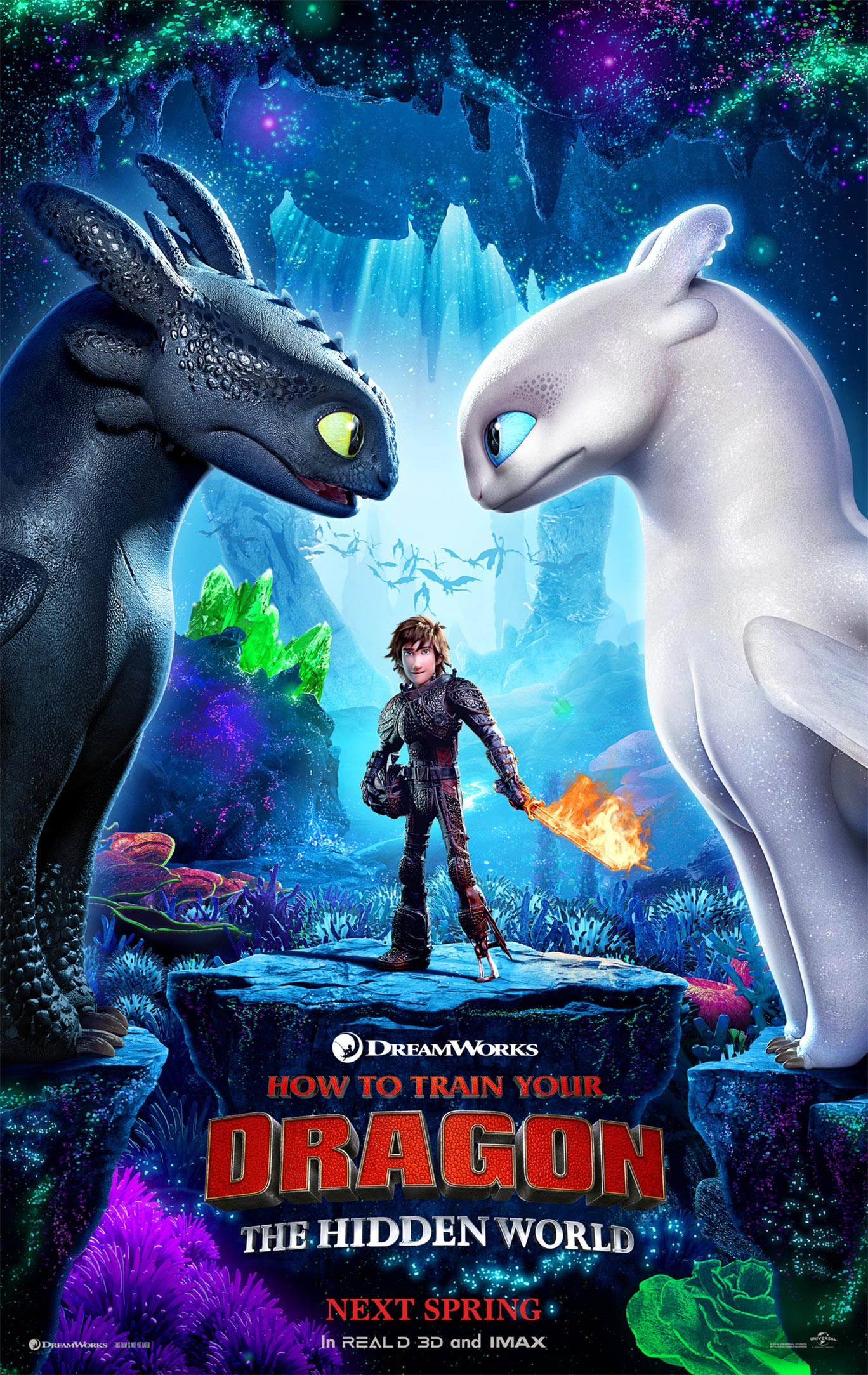 How to Train Your Dragon: The Hidden World Poster #1