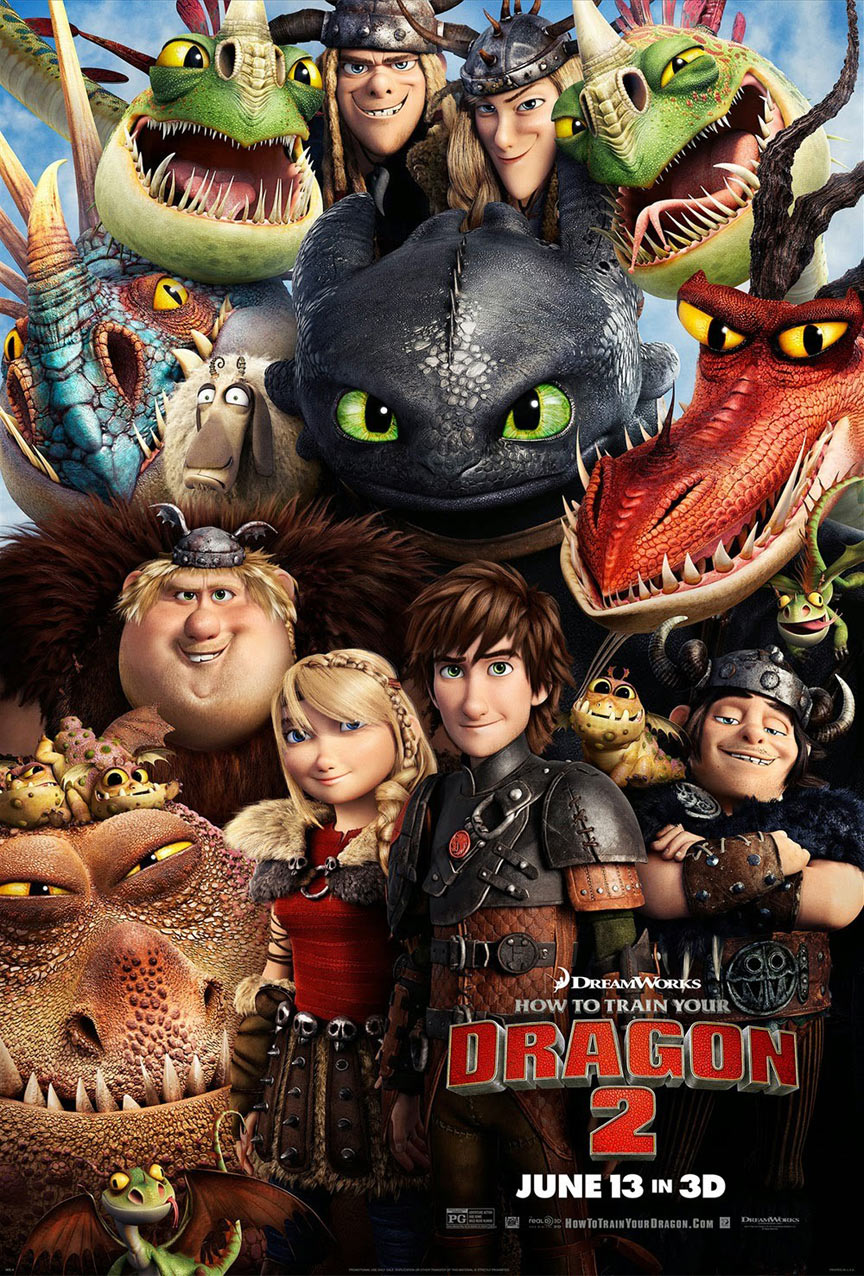How to Train Your Dragon 2 Poster #11