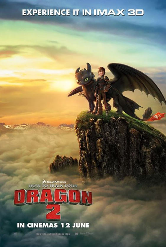 How to Train Your Dragon 2 Poster #14