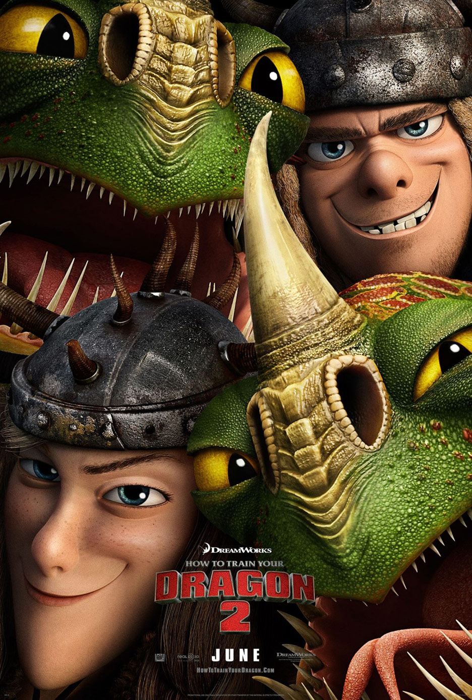 How to Train Your Dragon 2 Poster #4