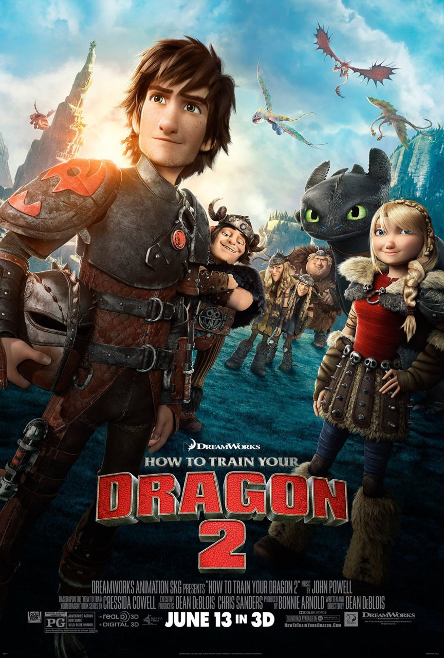 How to Train Your Dragon 2 Poster #6