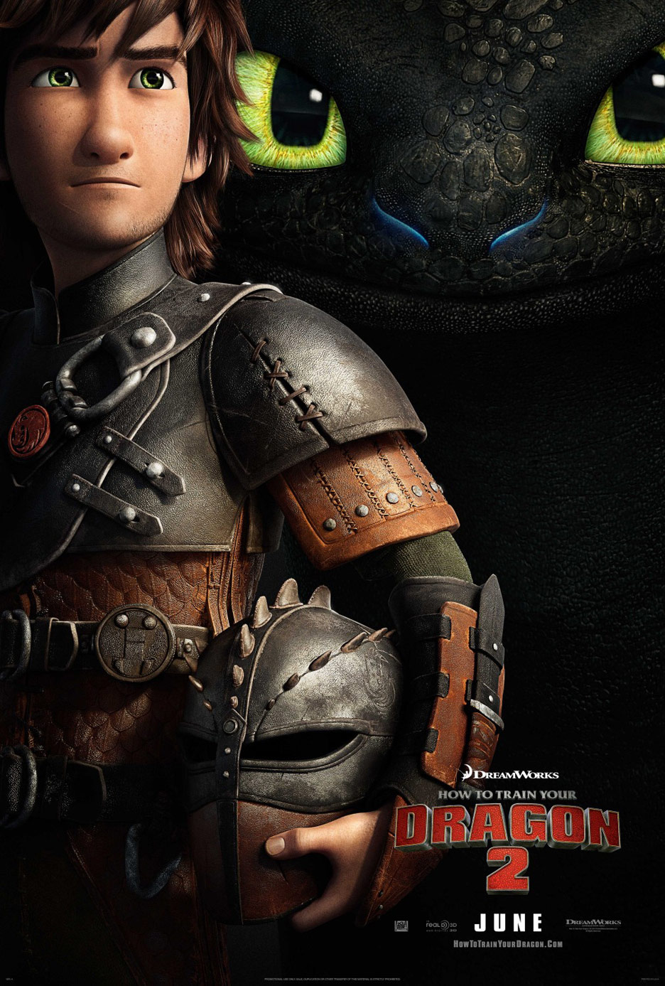 How to Train Your Dragon 2 Poster #1