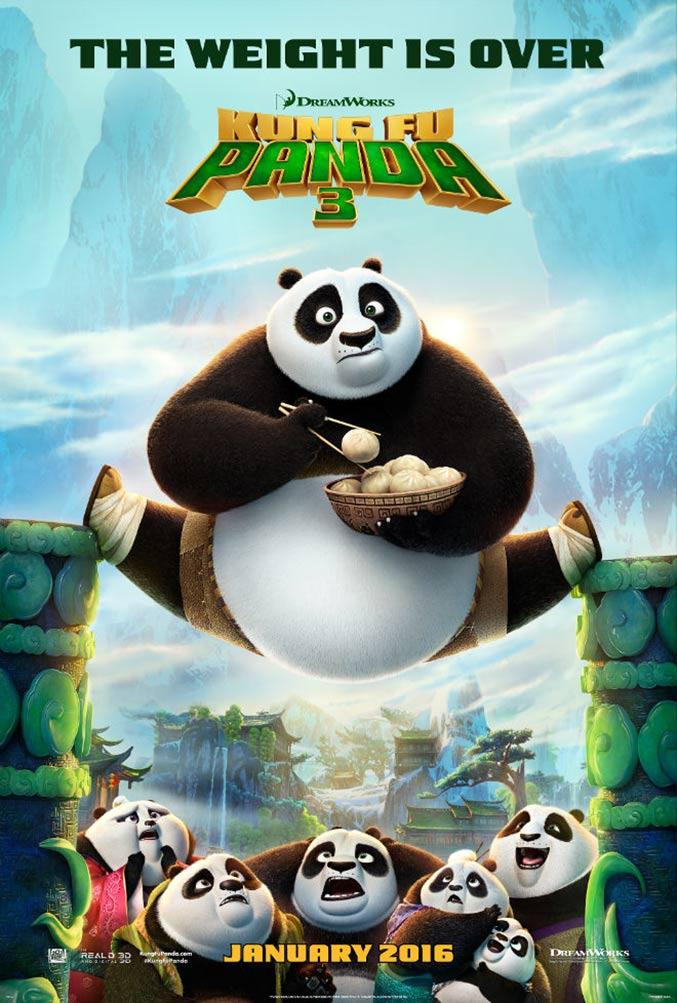 Kung Fu Panda 3 Poster #1