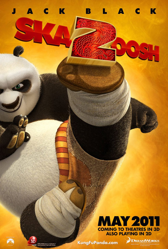 Kung Fu Panda 2 Poster #1