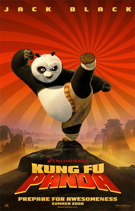 Kung Fu Panda Poster #1