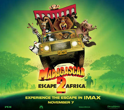 Madagascar: Escape to Africa Poster #2