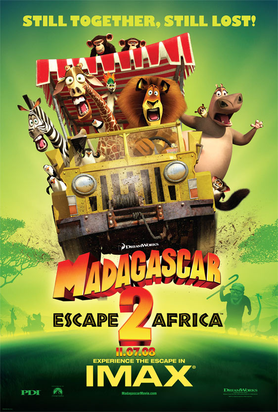 Madagascar: Escape to Africa (2008) Poster #4 - Trailer Addict