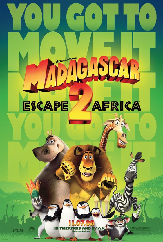 Madagascar: Escape to Africa Poster #1