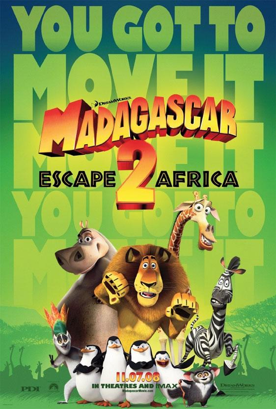 Madagascar: Escape to Africa Poster #1