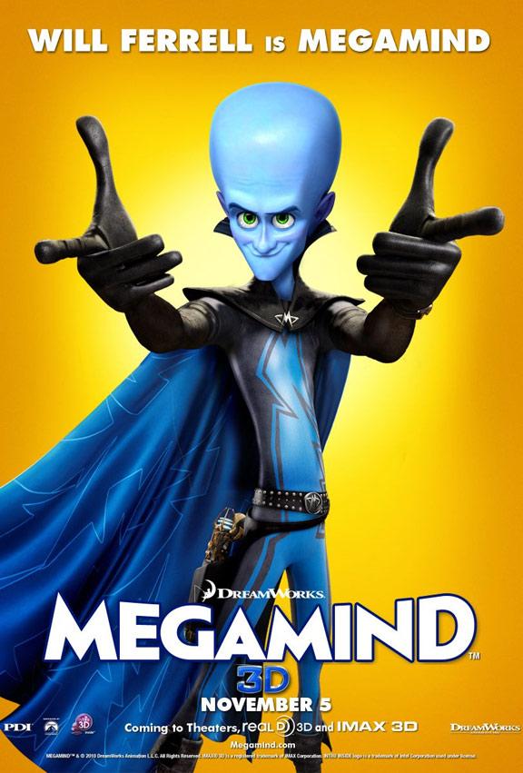 Megamind Poster #3