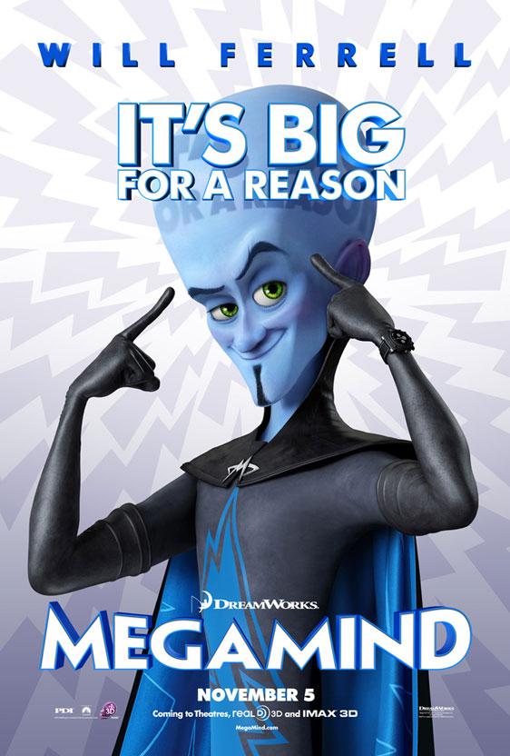 Megamind Poster #1