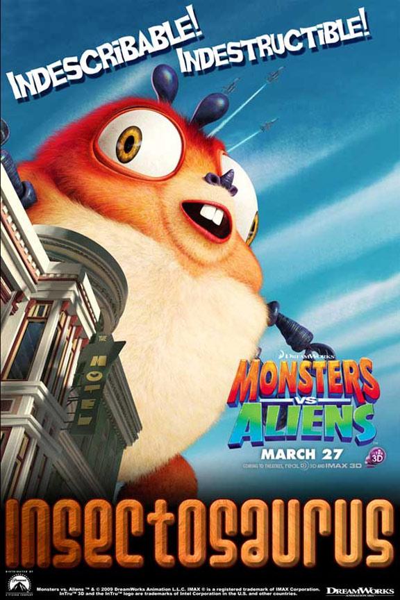 Monsters vs. Aliens Poster #17
