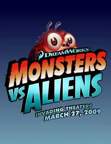 Monsters vs. Aliens Poster #18