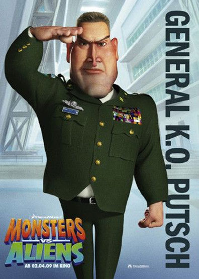Monsters vs. Aliens Poster #19